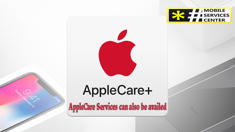 AppleCare Services can also be availed t mobile protection 360