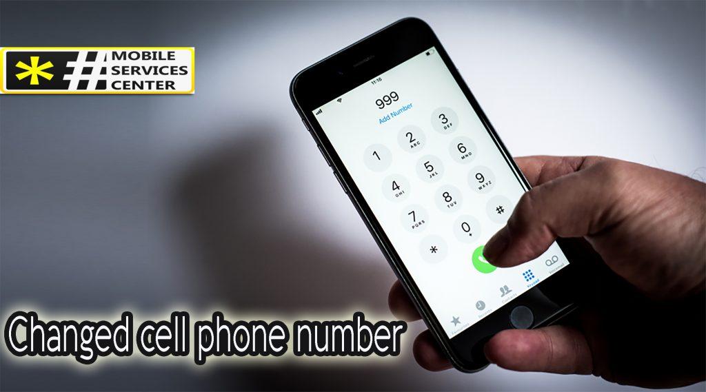 Verizon change phone number