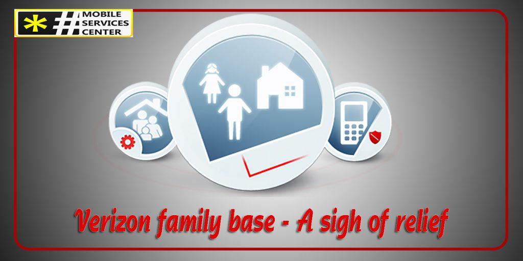 Verizon family base for